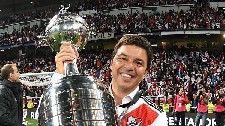La Copa Libertadores 2018 ante Boca había sido su última celebración (Foto: Diego Haliasz / Prensa River)