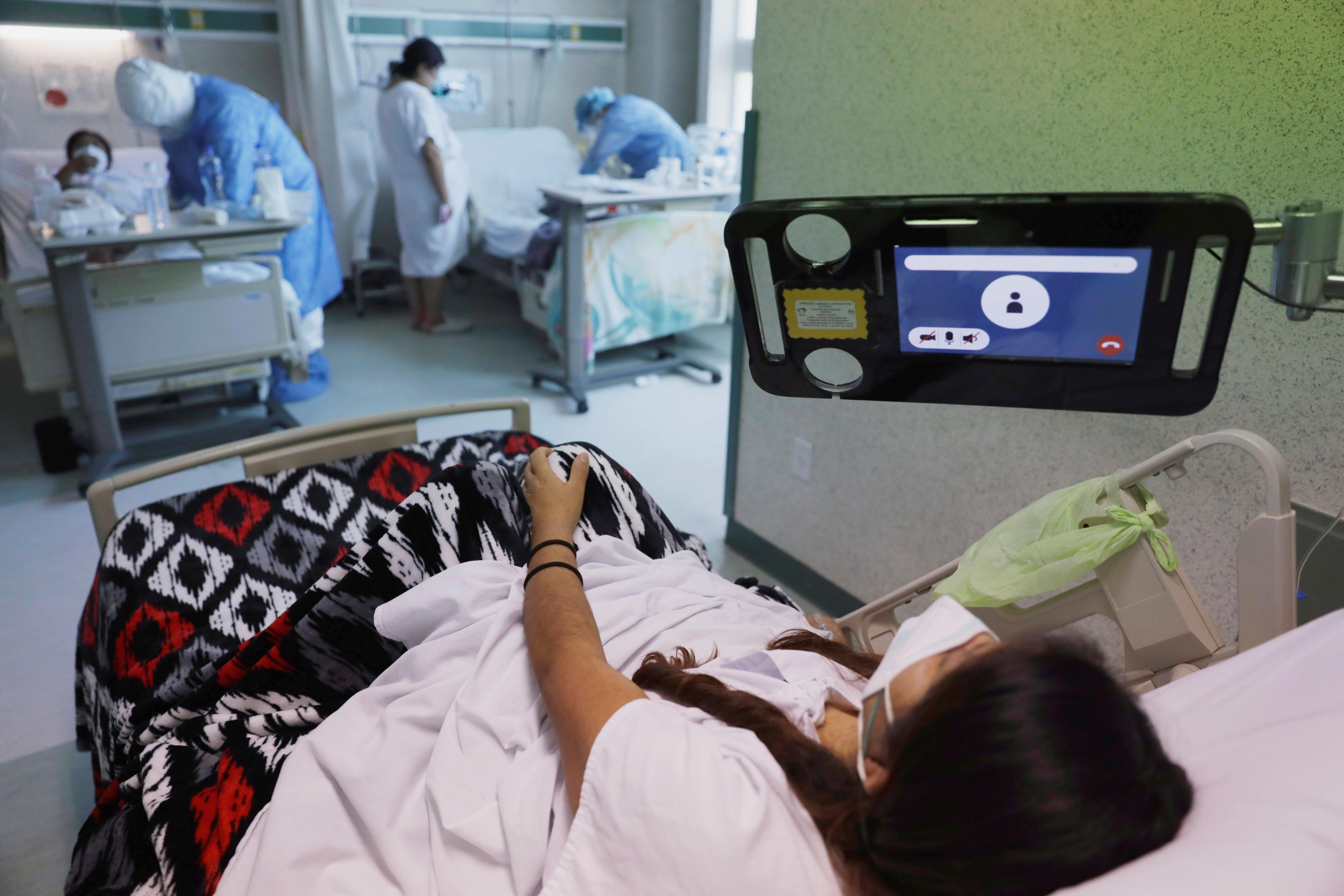 Tras un mes hospitalizado recuperó la fuerza (Foto: REUTERS/Luis Cortes)