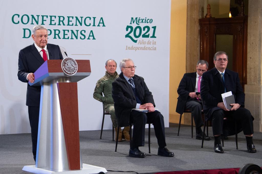 AMLO - PRESIDENCIA - ANDRES MANUEL LOPEZ OBRADOR - MEXICO - CONFERENCIA - 14012021