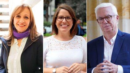 Ángela María Robledo, Juanita Goebertus y Jorge Enrique Robledo, algunos de los congresistas que anunciaron no volver al Congreso y renunciar a sus partidos.