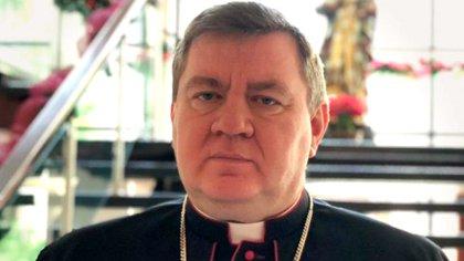 El nuevo nuncio apostólico en la Argentina, Miroslaw Adamczyk (aica.org)