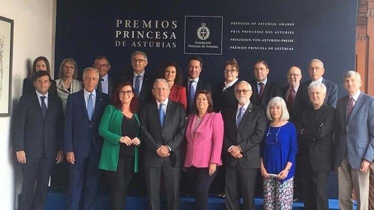 El jurado del Premio Princesa de Asturias, edición 2019