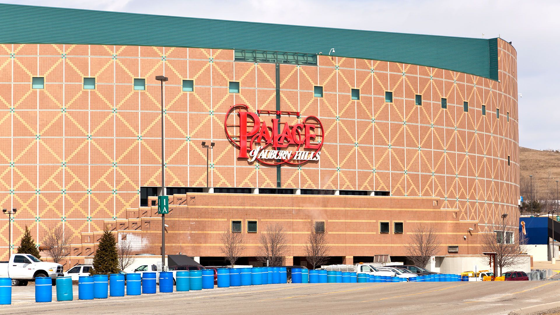 The Palace of Auburn Hills la antigua cancha de Detroit Pistons