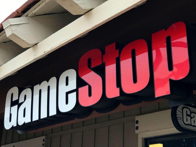 Imagen de archivo de una tienda de GameStop Inc. en Encinitas, California, EEUU. 24 mayo 2017. REUTERS/Mike Blake