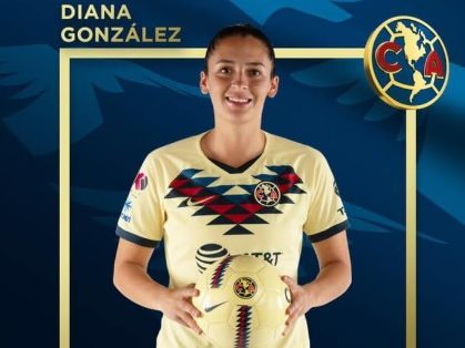 Esta mañana el Club América informó sobre el fallecimiento de la futbolista Diana González Foto: (Twitter)