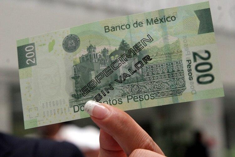Este sigue siendo el billete que hasta la fecha sigue en circulación (Foto: Cuartoscuro)