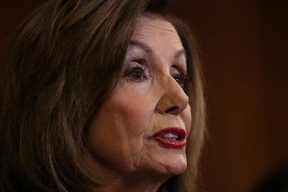 Nancy Pelosi, presidenta de la Cámara de Representantes de Estados Unidos (Foto: REUTERS/Loren Elliott)