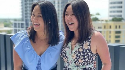 Dos gemelas idénticas separadas al nacer se reencuentran después de 36 años