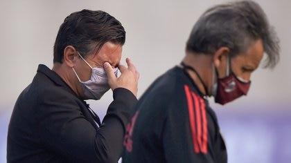 """""""Esto no fue normal"""": Marcelo Gallardo sobre el partido de Junior contra River en medio de los disturbios en Barranquilla"""