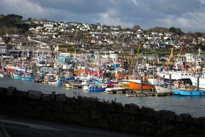 Puerto de Newlyn. REUTERS/Tom Nicholson