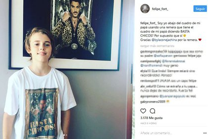 El tierno gesto de Felipe Fort en honor a su padre
