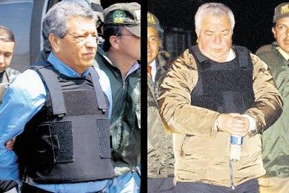 Ambos hermanos, recluidos en cárceles distintas, padecen la grave enfermedad. (AP Photo/Colombian National Police)