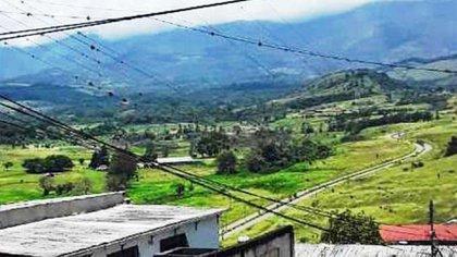 Vista del Fuerte desde el barrio Fiqueros