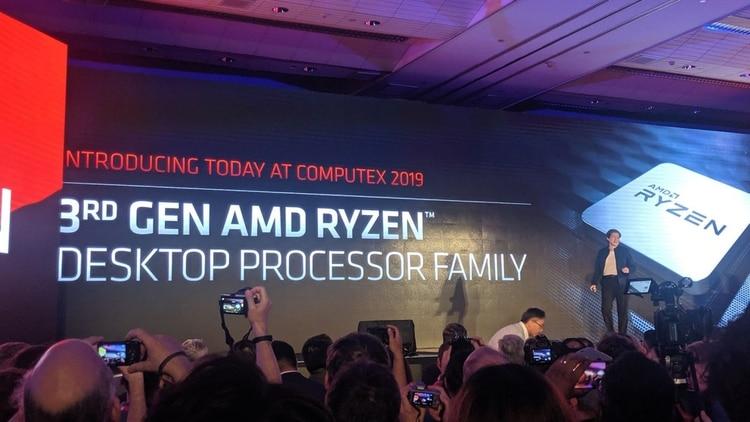AMD dio a conocer sus novedades un día antes de la apertura de la feria Computex.