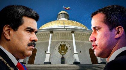 El dictador Nicolás Maduro busca arrebatar el poder de la Asamblea Nacional (AN) al presidente Juan Guaidó