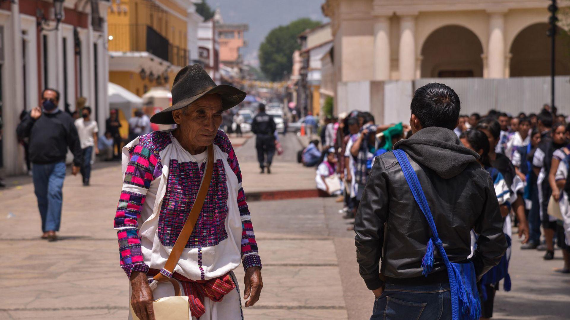 pobladores San Juan Cancuc (Foto: Cuartoscuro)