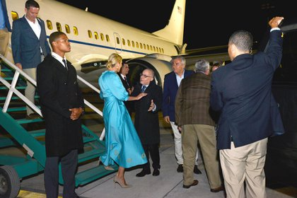 La hija y asesora del presidente de los Estados Unidos llegó a Jujuy el jueves 5 de septiembre por la madrugada
