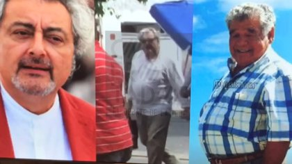 """Claudio Rissi como """"Don Diego"""", el padre del """"10"""""""