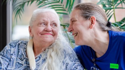 Ambas han comenzado a planear una reunión familiar para volver a convivir. (Foto: Daniel Johnson/  Methodist Health System vía The Washington Post)