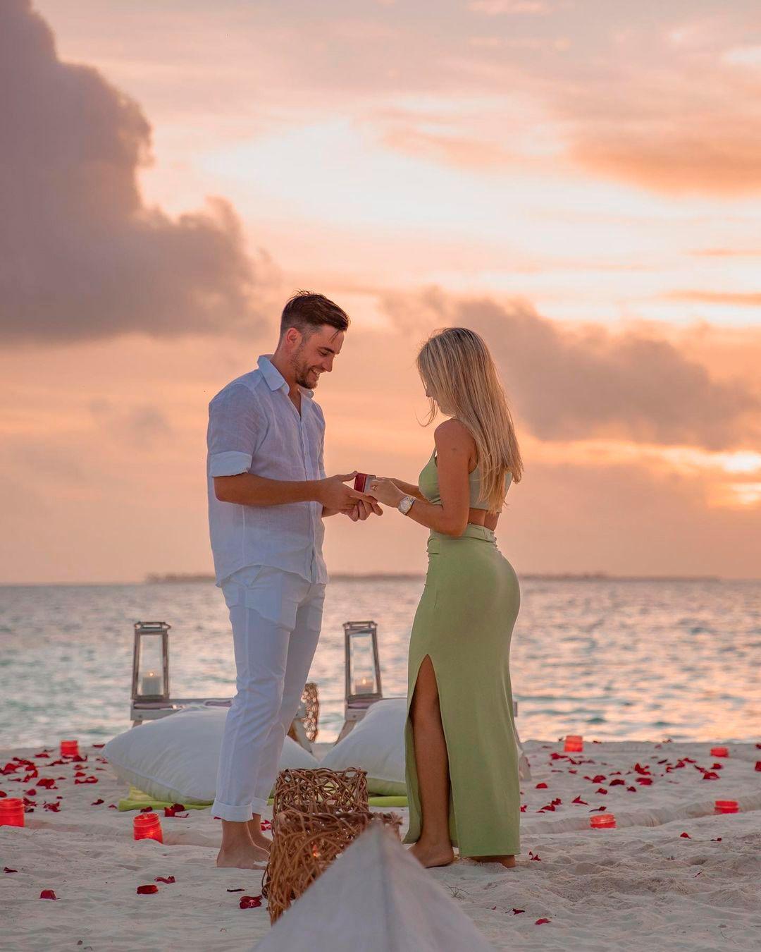 La propuesta de Casamiento de Tagliafico a Caro Calvagni