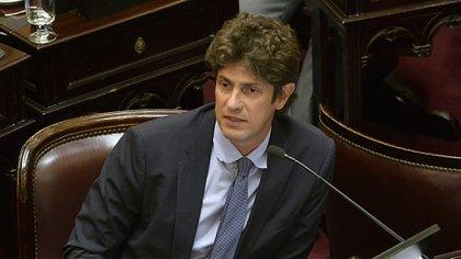 El senador radical Martín Lousteau