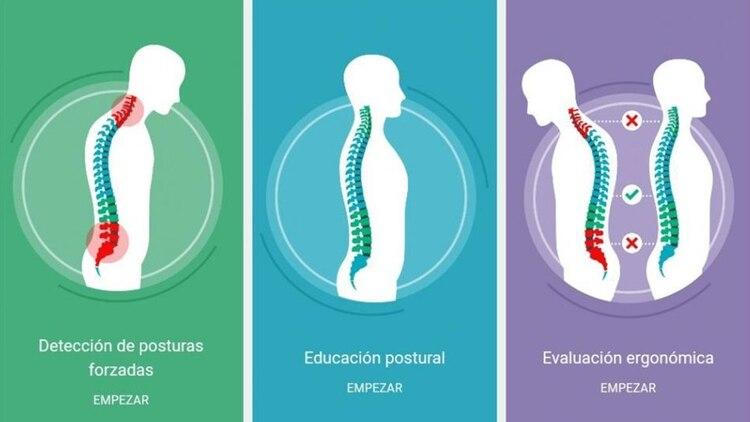 Wearlumb, la camiseta inteligente, mejora la postura y evita dolores