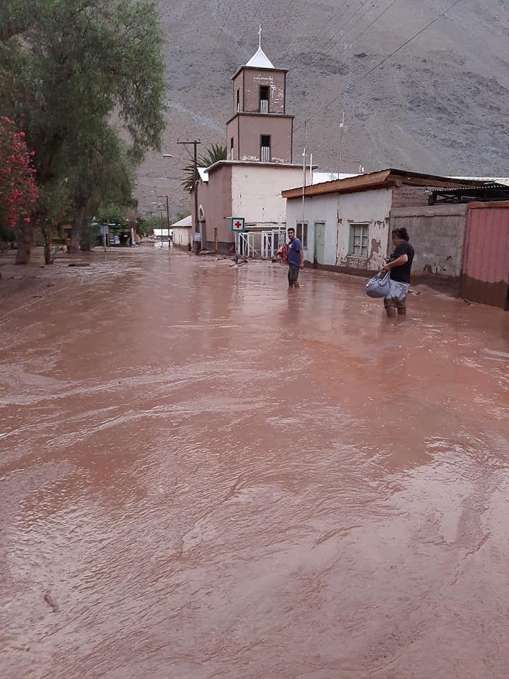 La Onemi decidió decretar alerta amarilla para las comunas de Copiapó, Tierra Amarilla, Diego Almagro, Chañaral y Alto del Carmen