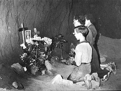 Familiares de víctimas de la Masacre de las Fosas Ardeatinas