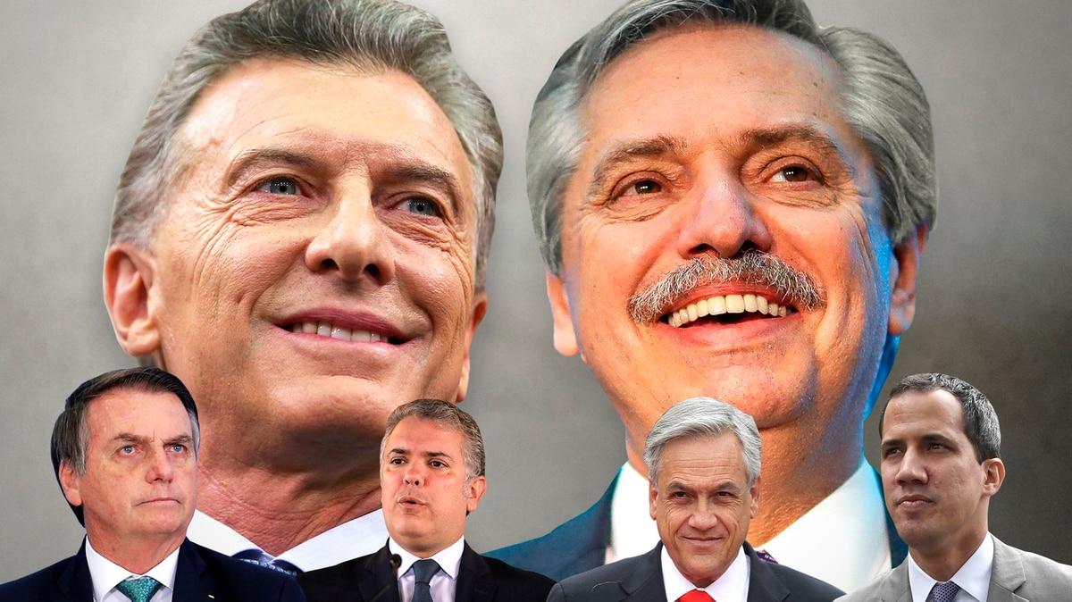 Diferencias en América Latina por las primarias presidenciales en Argentina