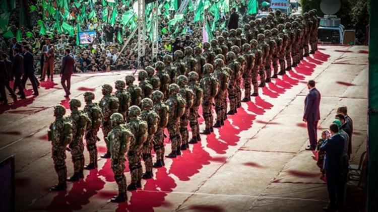Efectivos de Hamas en Gaza