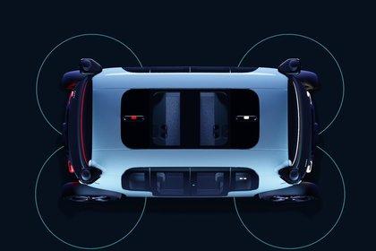 Los sensores ofrecen una cobertura de 360 grados