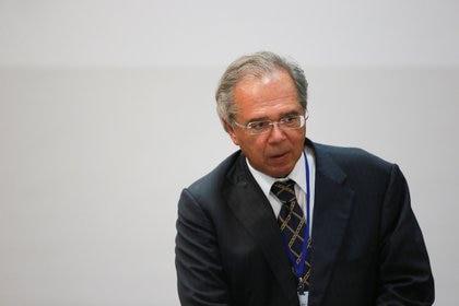 El Ministro de Economía de Brasil, Paulo Guedes, en la cumbre del Mercosur, el 5 de diciembre de 2019 (REUTERS/Diego Vara)