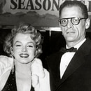 Marilyn Monroe y Arthur Miller (Grosby Group)
