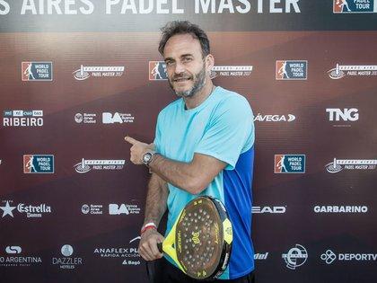 El secretario de deportes de la ciudad de Buenos Aires y ex tenista, Luis Lobo