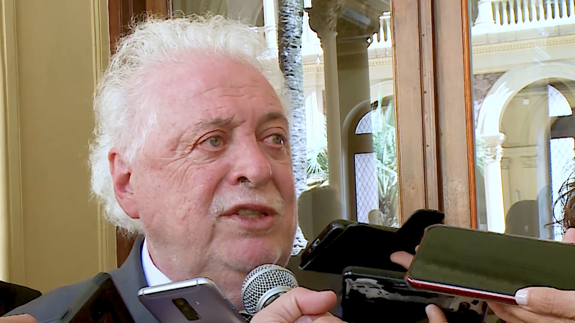 El ministro de Salud, Ginés González García.