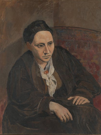 Retrato de Gertrude Stein (1906)