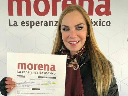 Gabriela Goldsmith será apoyada por Morena rumbo a elecciones del 2021 (Foto: Twitter @gabygoldsmith)