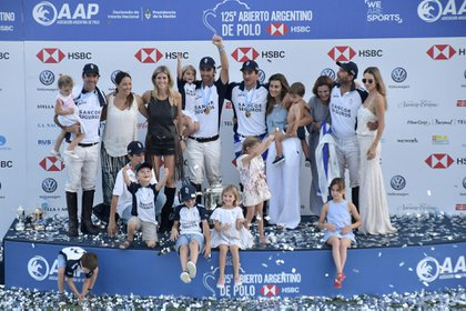 La Dolfina, el equipo de Adolfo Cambiaso (h), es el último campeón y gana de manera consecutiva desde 2013