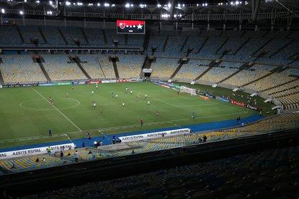 El Maracaná, el estadio que utilizan el Flamengo y Fluminense para jugar de local (REUTERS/Ricardo Moraes)