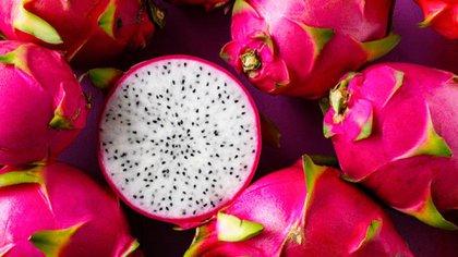 La pitaya es una fruta que cuenta con un color muy llamativo (Foto: iStock)
