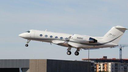 El Gulfstream IV es un jet lujoso de la compañía SK Aviation LLC (Foto: flightaware.com)