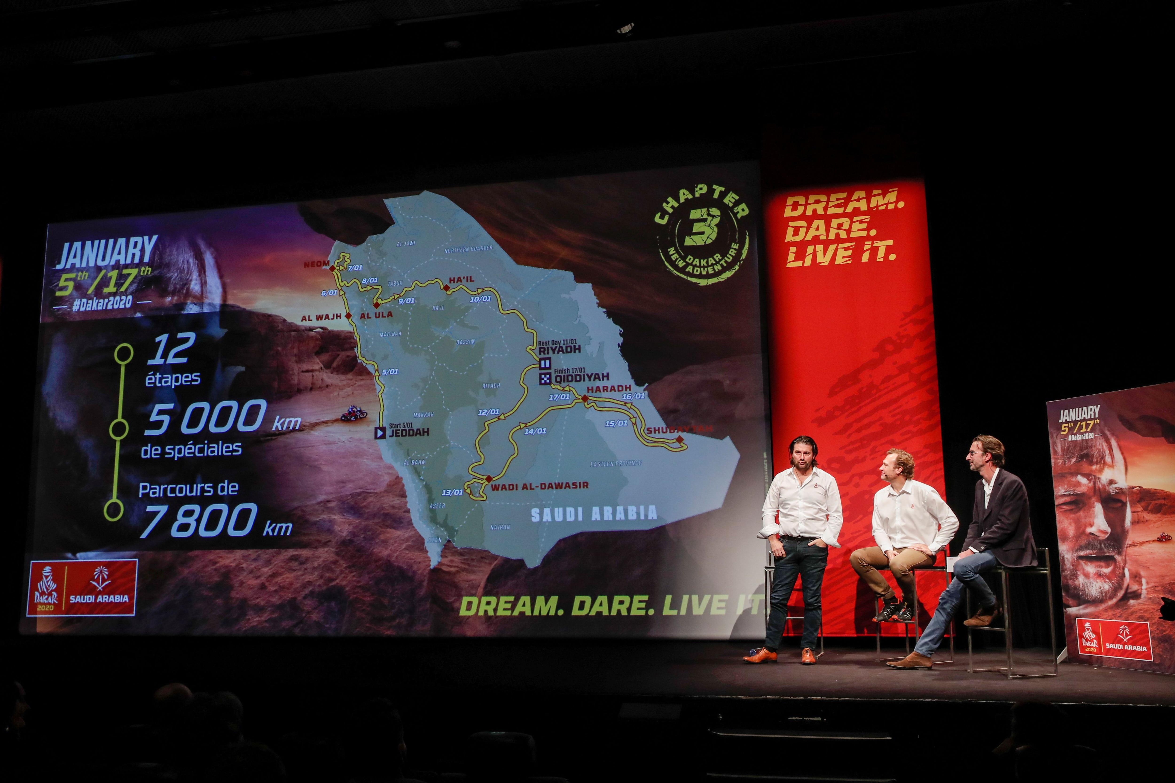 Así será el recorrido del Dakar (Reuters)