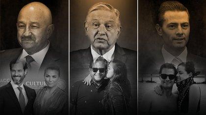 Las familias presidenciales, lejos de ser perfectas, han llamado la atención de los medios por los derroches de dinero (Foto: Especial)