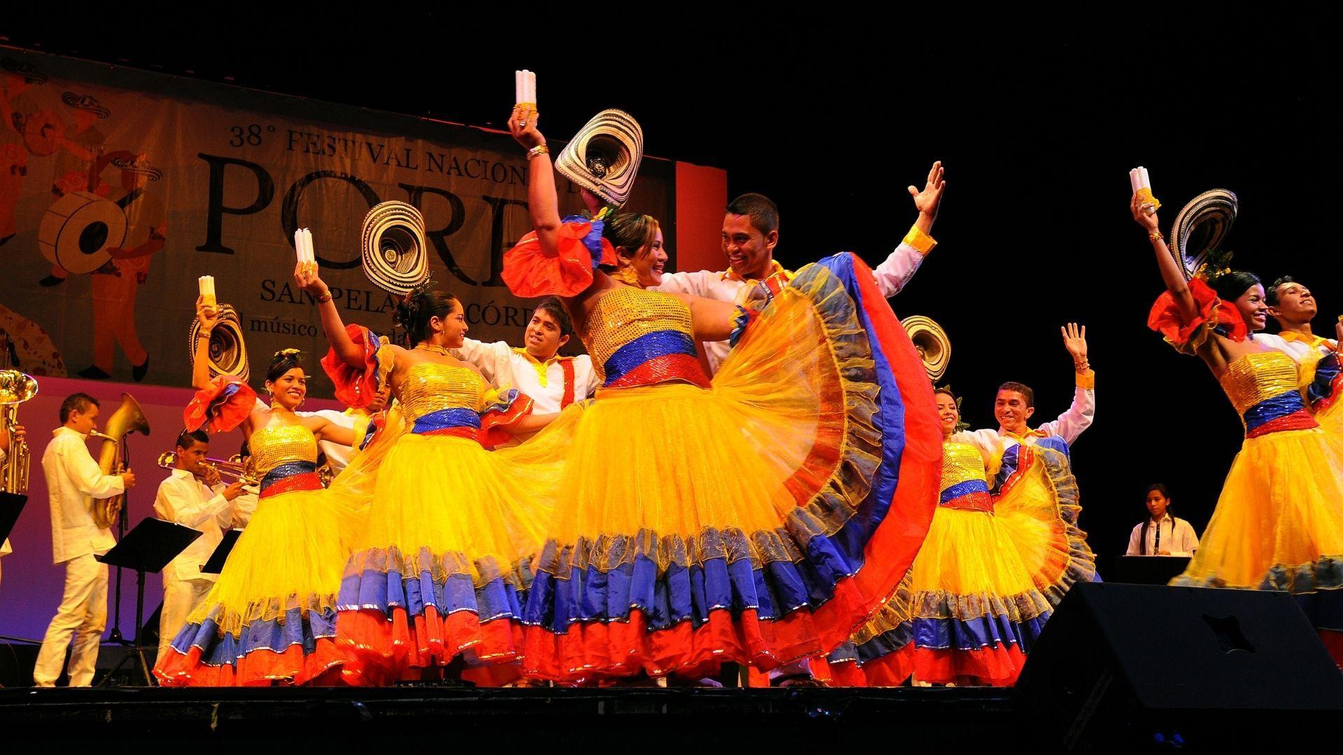 Bogotá Mayo 24/2014. En el Teatro Colsubsidio Roberto Arias Perez,se llevo a cabo el lenzamiento del 38° Festival del PORRO en San Pelayo Cordoba.Colprensa/José Herchel Ruiz.