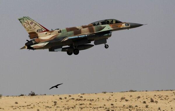 La contrapartida: en el incidente también participaron cazas F-16 israelíes, tecnología estadounidense con modificaciones locales (Reuters)
