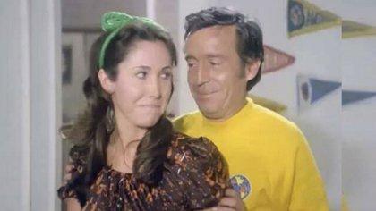 Trabajaron juntos en televisión, cine y teatro, y se convirtieron en una de las parejas más estables de la farándula mexicana (Foto: Twitter FlorindaMezaCH)