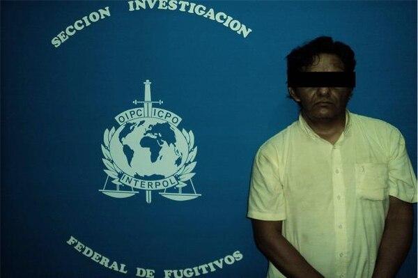 Oswaldo Ceferino Quispe Caso, detenido en 2015.