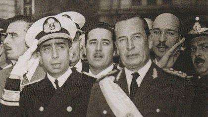 Pedro Eugenio Aramburu e Isaac Rojas