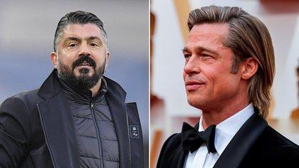 Gattuso comparó a su equipo con Brad Pitt
