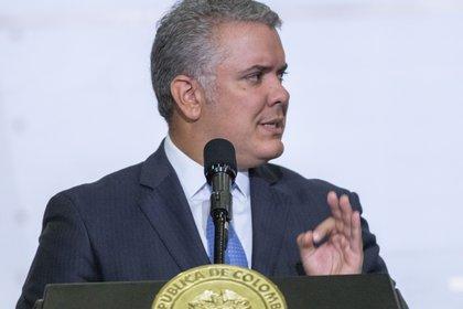 20/01/2020 El presidente de Colombia, Iván Duque POLITICA SUDAMÉRICA COLOMBIA LATINOAMÉRICA INTERNACIONAL DANIEL GARZON HERAZO / ZUMA PRESS / CONTACTOPHOTO